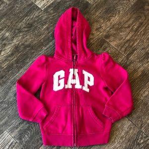 Gap pink hoodie
